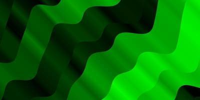 ljusgrön layout med kurvor.