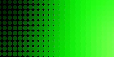 hellgrüner Hintergrund mit Kreisen.