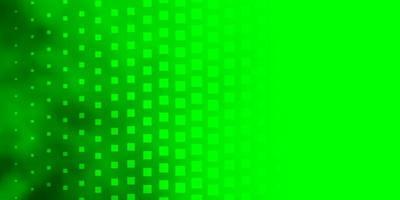 hellgrüne Vorlage mit Rechtecken.