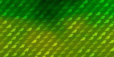 ljusgrön mall med rektanglar. vektor