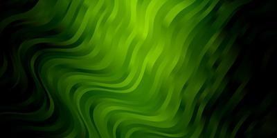 mörkgrön layout med sneda linjer.