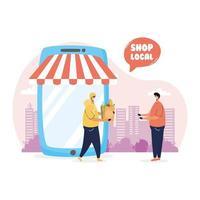 stödja sammansättning av lokala affärskampanjer