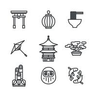 Beschriebene japanische Sachen