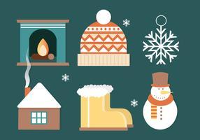 Freier Weihnachtshintergrund-Vektor