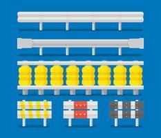 Leitplanke-Vektor-Sammlung