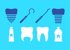 Kostenlose einzigartige falsche Zähne Vektoren