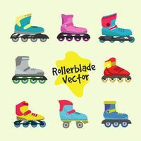 Rollerblade-Vektor vektor