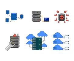 Freie Datenbank Illustration Vektor