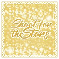 Vektor skjuta för stjärnorna kort