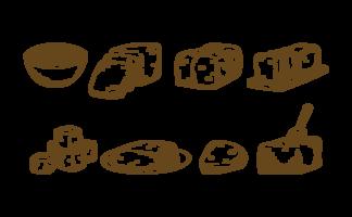 Tofu Icons Vektor
