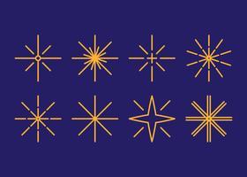 Free Outstanding Star Staub Vektoren