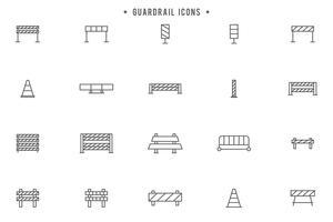 Gratis Guardrail Vektorer