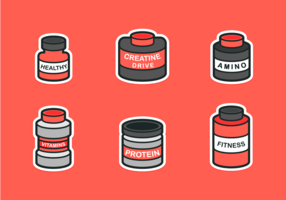Supplements Kostenloses Vector Icon Pack