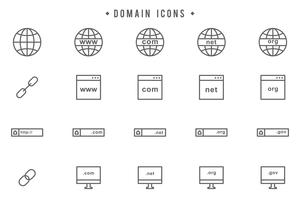 Freie Domain-Vektoren vektor