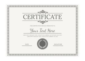 vektor certifikatmall