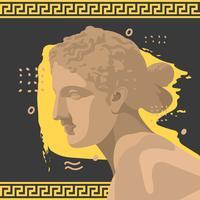 Aphrodite Vintage Vector Illustration