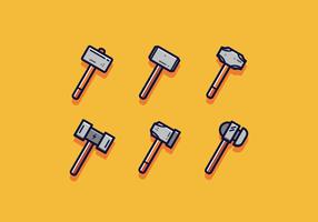 Kostenlose Vorschlaghammer Vector