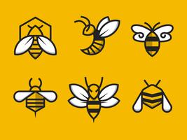 Kostenlose Hornisse Logo Vektor