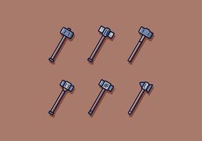Gratis Sledgehammer Vector