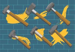 Vorschlaghammer-Vektor-Pack