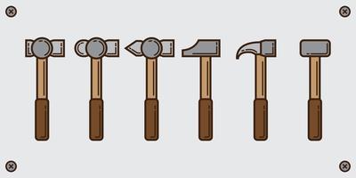 Vorschlaghammer Line Pack vektor