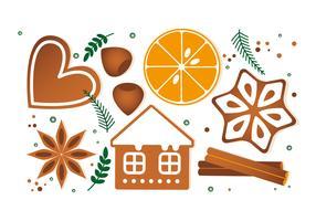 Kostenloser Weihnachts-Vektor-Hintergrund
