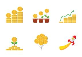 Einnahmen-Geld-Illustration vektor