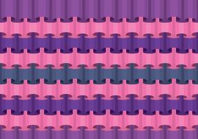 Rüschen nahtlose Muster Hintergrund vektor