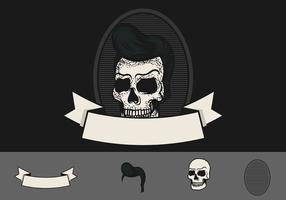 skalle greaser badge