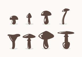 Giftige Pilze Vektor