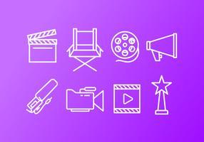Video-Ersteller-Icon-Pack