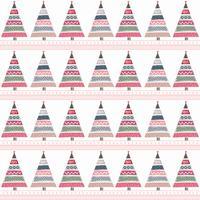 Kindischer Weihnachtsbaum-Vektor-Hintergrund vektor