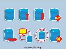 Databaselementvektor vektor