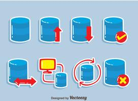 Datenbank-Element-Vektor vektor