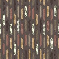 Vektor-Weizen-Ohren NAHTLOSES Muster