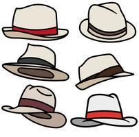 Vektor Set Of Panama Cartoon Icons