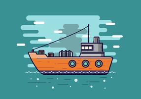 Gratis Trawler Vector