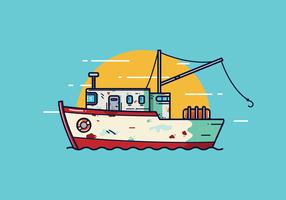 Kostenlose Trawler Vector