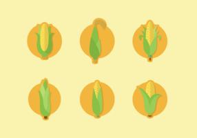 Corn Staltks Gratis Vector Pack