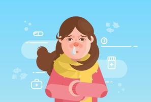 Sinus-Illustration