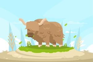 yak illustration vektor