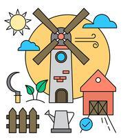 Kostenlose Bauernhof Icons vektor