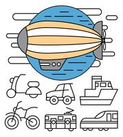 Minimale Transport-Ikonen vektor