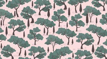 Muster Gum Tree Vektor