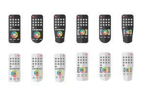 Fernbedienung oder TV Remote Icons