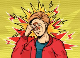 Sinus-Pop-Art-Retro- Illustration