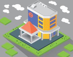 köpcentrum illustration