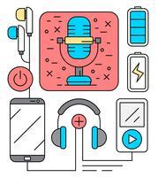 Kostenlose Audiounterhaltung Icons