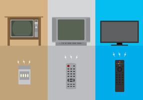 TV-Fernbedienung von Era Free Vector