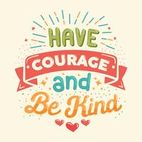 Ha mod och var snäll vektor